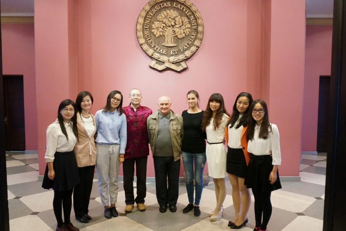 Sadarbības projekts ar LU Konfūcija Institūtu