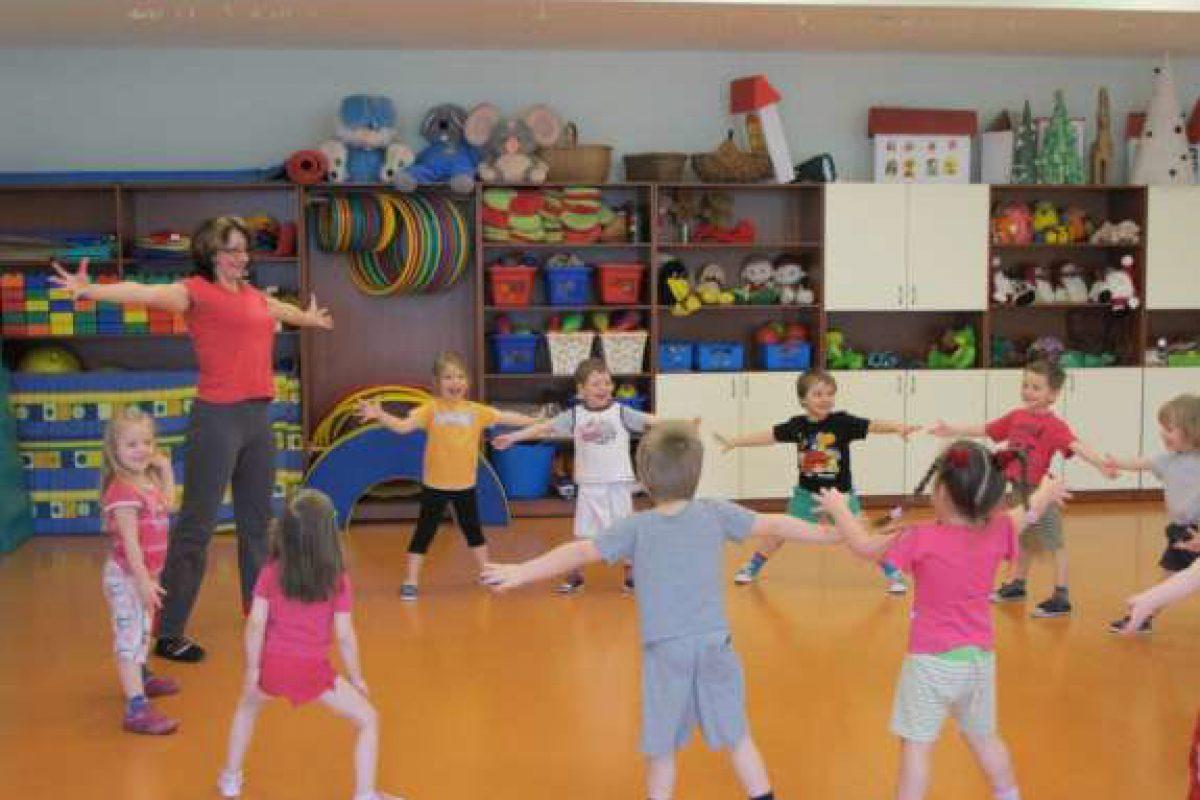 Atklātās nodarbības sportā pirmsskolā