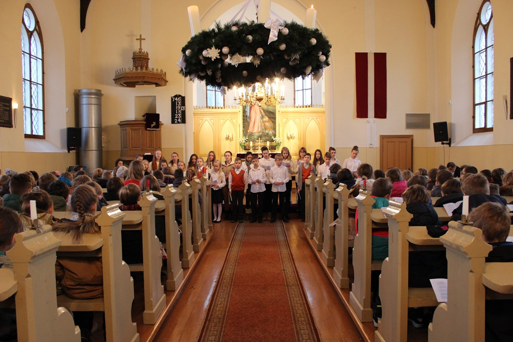Svētrīts Piņķu baznīcā 2016