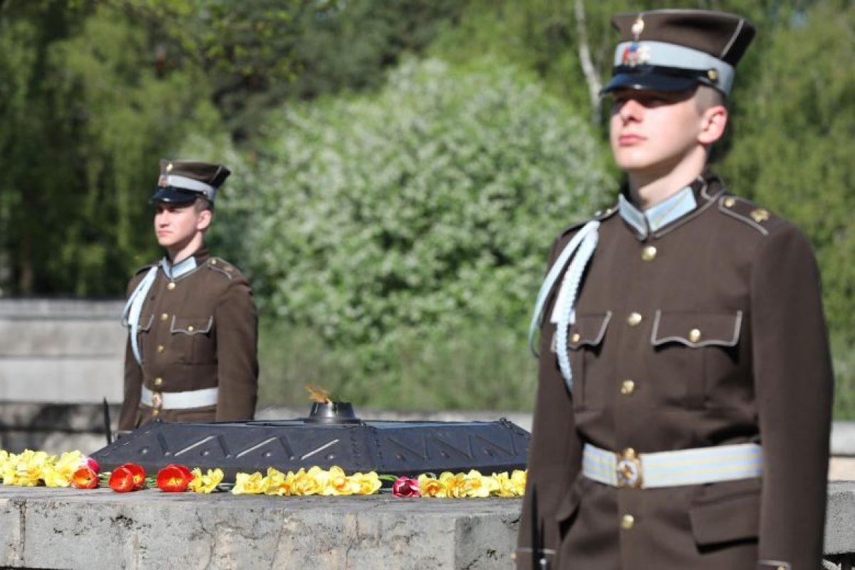 Otrā pasaules kara upuru piemiņas pasākumi…