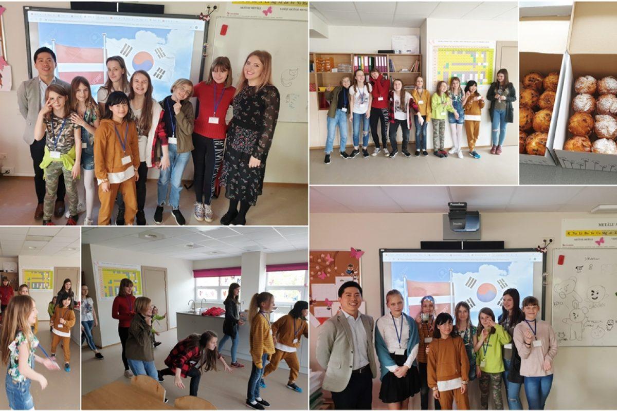 Pēcpusdiena ar viesi no Korejas Republikas vēstniecības Latvijā