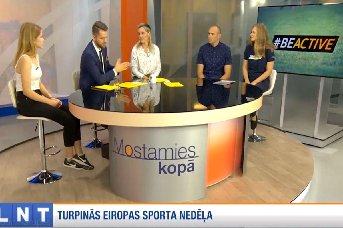 """Sportiskā skola – Jaunmārupes pamatskola LNT """"900 sekundēs"""""""