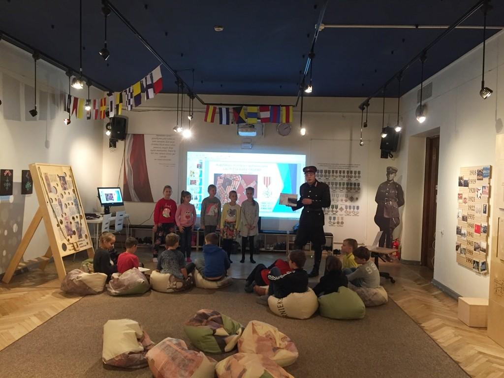 Mācību ekskursija uz Kara muzeju