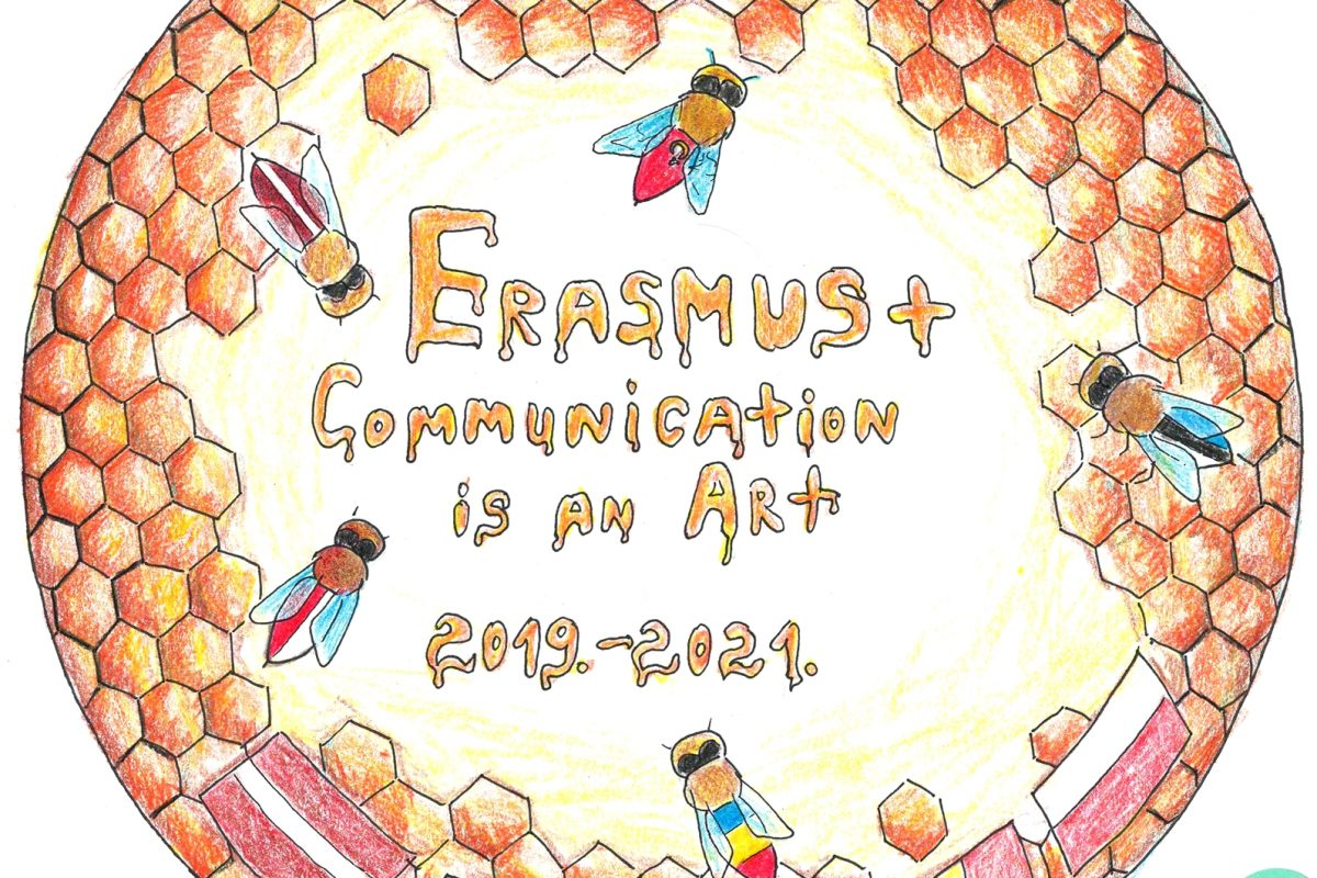 """Erasmus+ """"Communication is an Art"""" logotipa konkursā uzvar Latvija un Katrīna Patrīcija Bāra"""