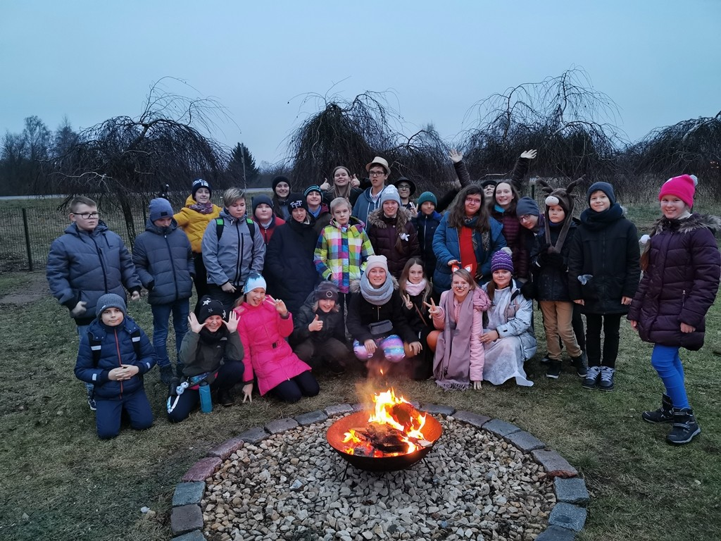 Winter solstice celebration for class 5e