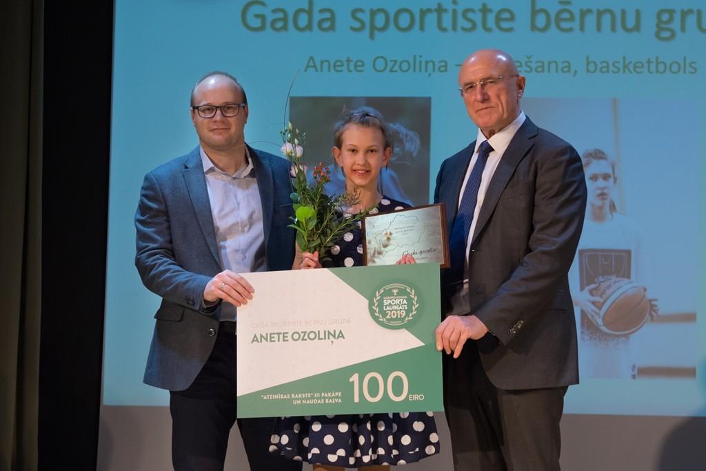 Apsveicam Aneti Ozoliņu – Mārupes novada Sporta laureāti 2019