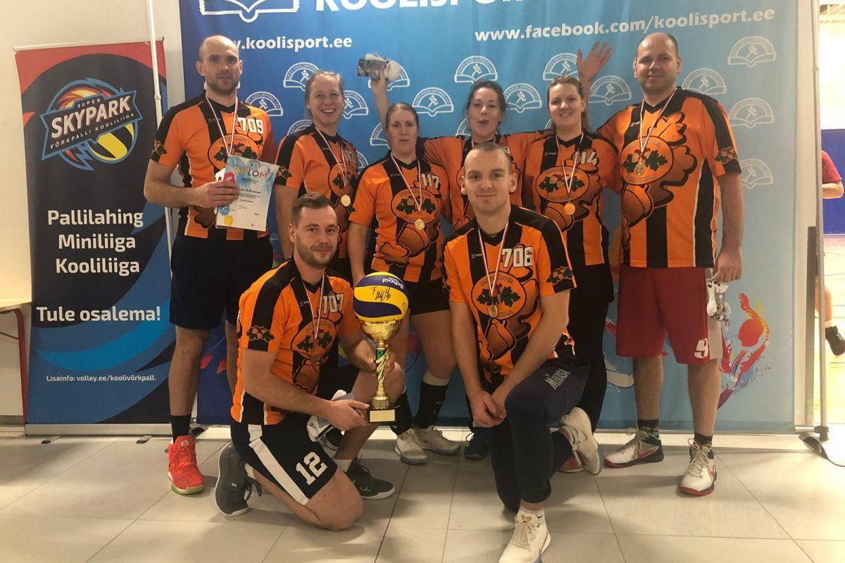 Skolotāju volejbola turnīrs Tartu