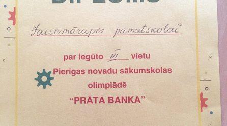 """""""Prāta Banka"""" kārta Ropažos"""