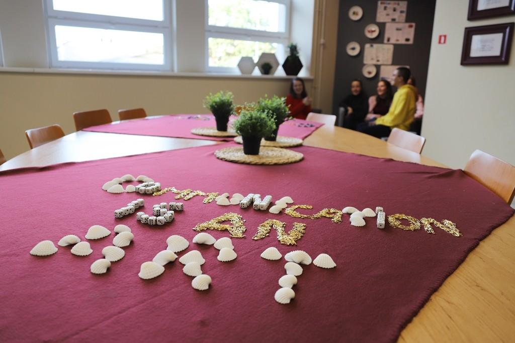 """Erasmus+ """"Communication is an art"""" – projekta telpas iekārtošana, 2020"""