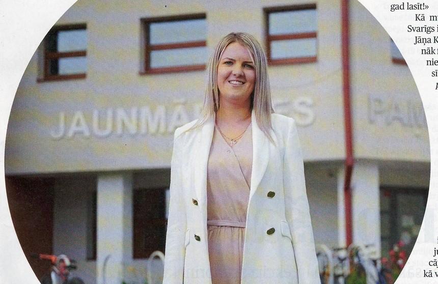 Skolotāja ar sirsnību un stingru stāju – Simona Neifalte