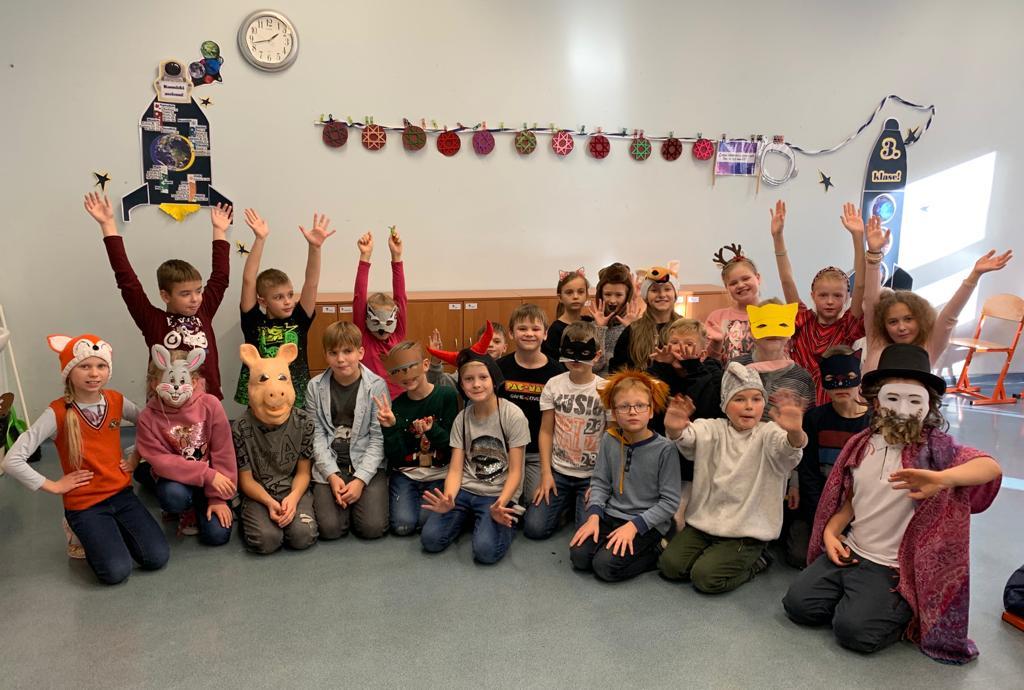 3.a klase rada sev svētku sajūtu Mārtiņdienā!