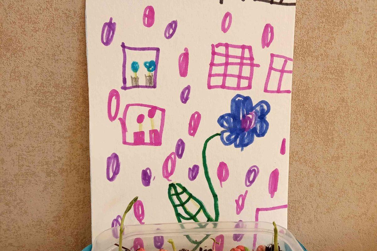 Sveicam mūsu māmiņas! – vizuālās mākslas bērnu sveicieni