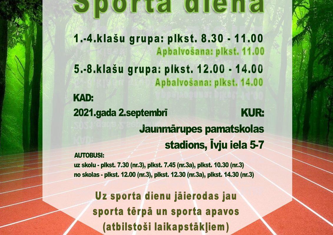 Sporta diena 2021