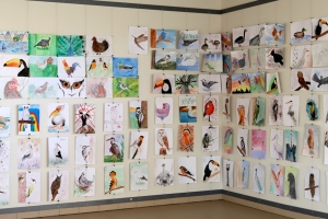 """Rudens vizuālās mākslas izstāde """"Putni"""""""